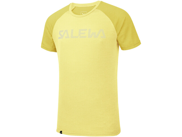 SALEWA Pedroc Delta Dry T-shirt Homme, limelight/5736